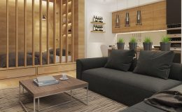 Jak účelně zařídit 1-pokojový byt 26