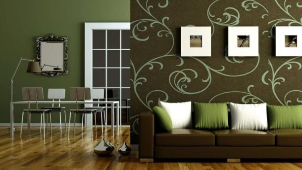 Pojďte s námi do olivově zeleného interiéru 1