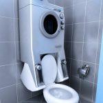 Slyšeli jste o pračce-záchodě? Šetří vodu i místo 17