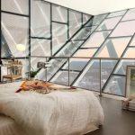 Na vrcholu světoznámého skokanského můstku v Oslu trůní luxusní apartmán 2