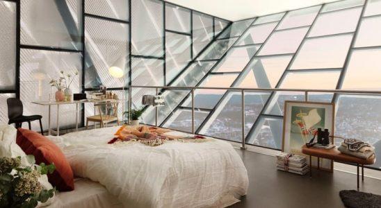 Na vrcholu světoznámého skokanského můstku v Oslu trůní luxusní apartmán 10