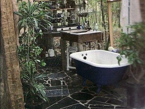 Koupelna v zimní zahradě 1