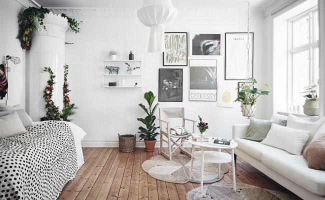 Inspirace v jednopokojovém bytě 1