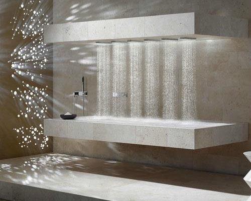Horizontální sprcha mění způsob sprchování 1