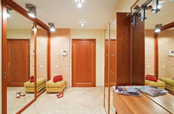 Vestavěné skříně obohacují možnosti praktického bydlení 1