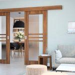 Posuvné dveře vás zbaví starostí s nedostatkem prostoru v bytě 4