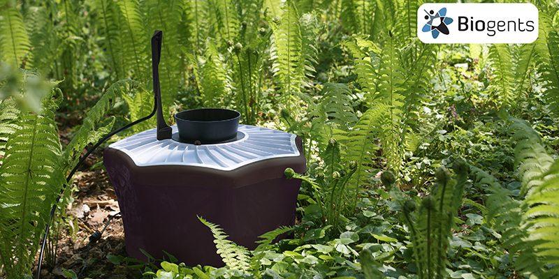 Díky pasti Biogents vás komáři v zahradě obtěžovat už nebudou 1