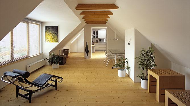 Podkrovní byt - půvabné bydlení s mnoha úskalími 1