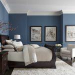 Ložnice v tónech modré 3