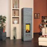 Kompaktní kamna - vytápění dřevem 2
