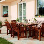 Zimní údržba zahradního dřevěného nábytku 4