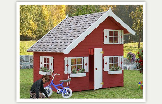 Zahradní domek pro děti ze dřeva 1