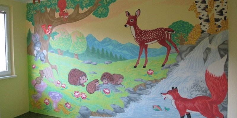 Prázdniny jsou ideální čas na malování dětského pokoje 1