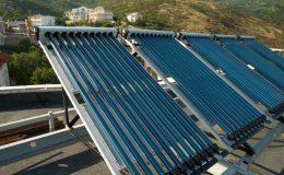 Solární kolektory na ohřev vody 27