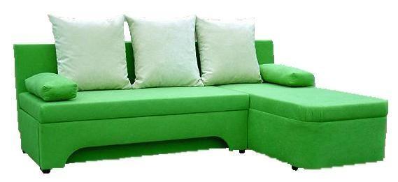 Smaragdové rohové sedačky 1