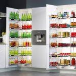 Jak uskladnit v kuchyni potraviny, když chybí spižírna 7
