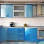 Modrá v kuchyni 4