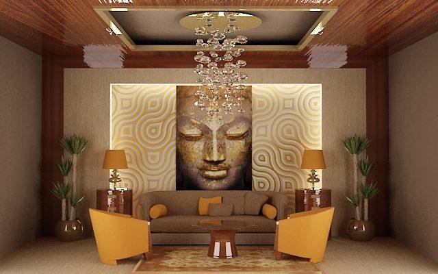 Základy feng-šuej v obývacím pokoji 1