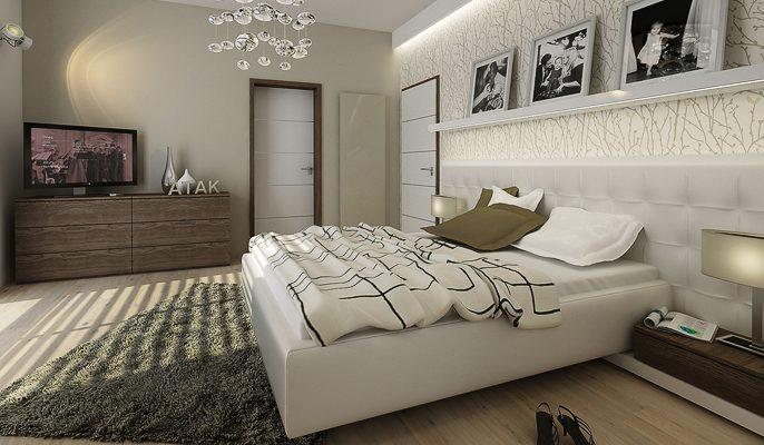 Vhodná podlahová krytina do ložnice 1