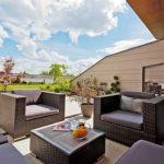 I na střešní terase se dá příjemně relaxovat 32
