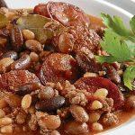 Mleté hovězí maso s fazolemi 6