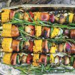 Kukuřično-špekáčkový špíz na roštu s bylinkami 5