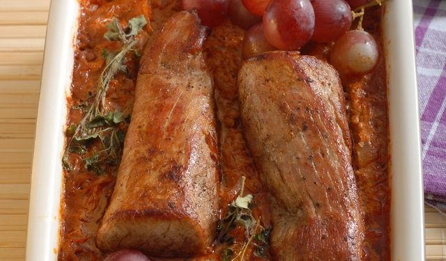 Vepřové filety se smetanovým zelím 1