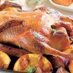 Pečená kachna s pomerančem 2