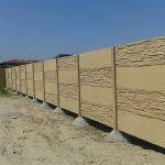 Betonové ploty 2