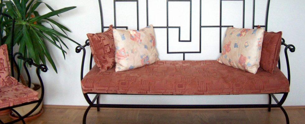 Kovaný nábytek 1