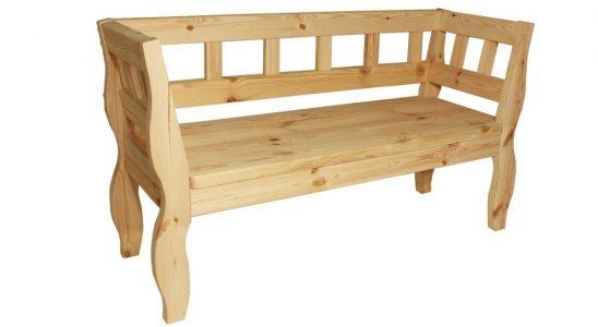 Rozmanité zahradní lavičky 8