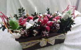 Nejkrásnější vánoční ikebany 27
