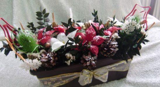 Nejkrásnější vánoční ikebany 3