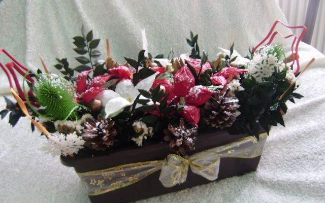 Nejkrásnější vánoční ikebany 1