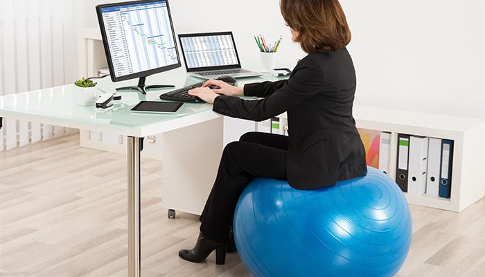 Fit míč do kanceláře 1