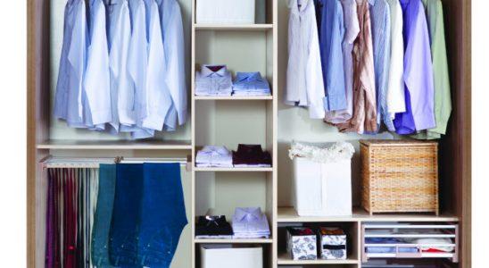 Jak šikovně uspořádat šatní skříň 7