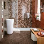 Mozaika vkoupelně působí luxusně a nadčasově! 6