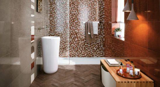 Mozaika vkoupelně působí luxusně a nadčasově! 7