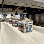 Vysoce zátěžové PVC podlahy Gerflor DesignTime 7